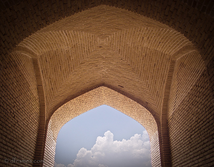 Maranjab caransary II,Taken inside Maranjab Carvansary (road side inn), in central desert in iran.